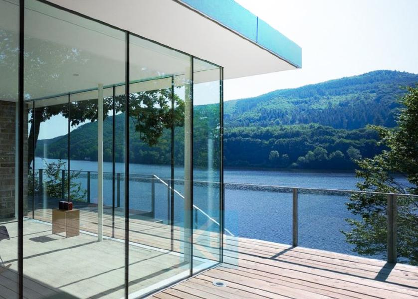 Perete sticla balcon Kamat